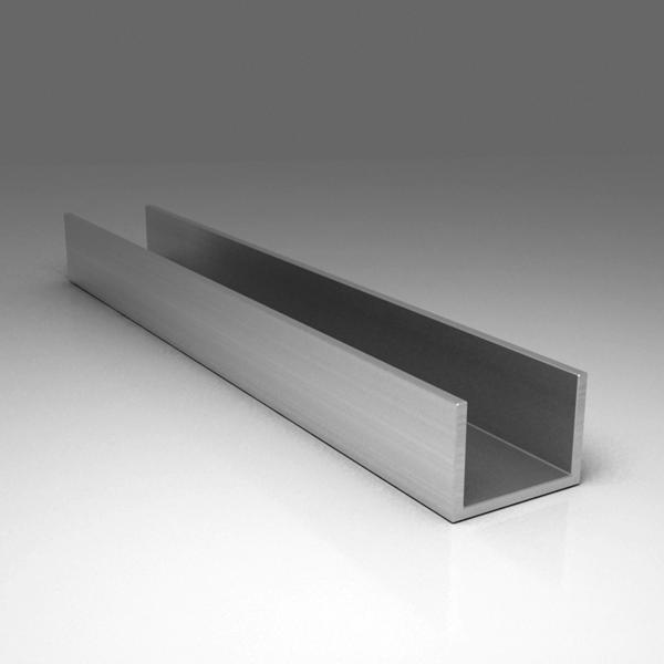 П-образный алюминиевый профиль (швеллер)