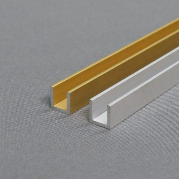 Анодированный алюминиевый швеллер 6063Т5