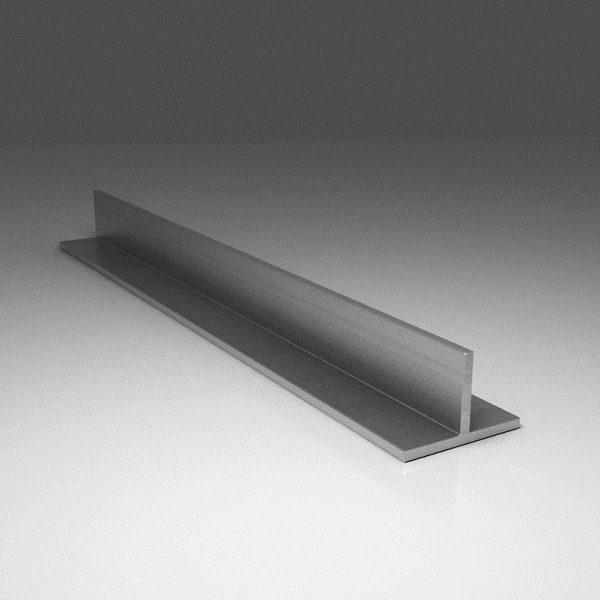 Т-образный алюминиевый профиль (тавр)