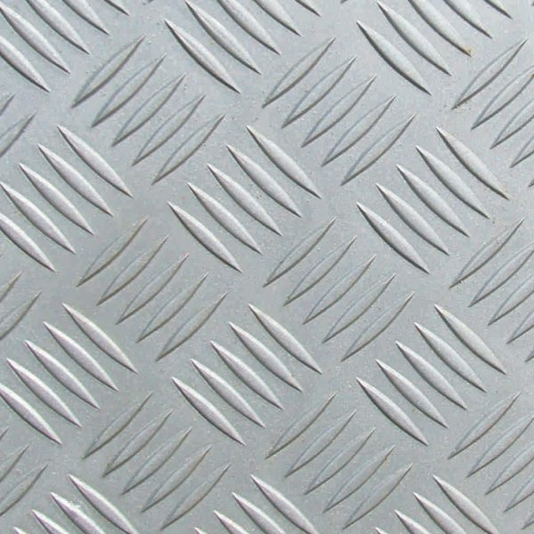 Рифленый алюминиевый лист АМг2